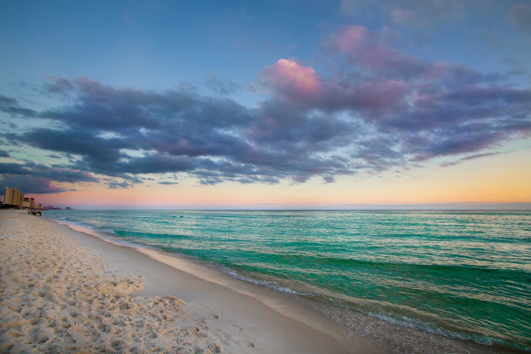 Panama City Beach Sunset Photos