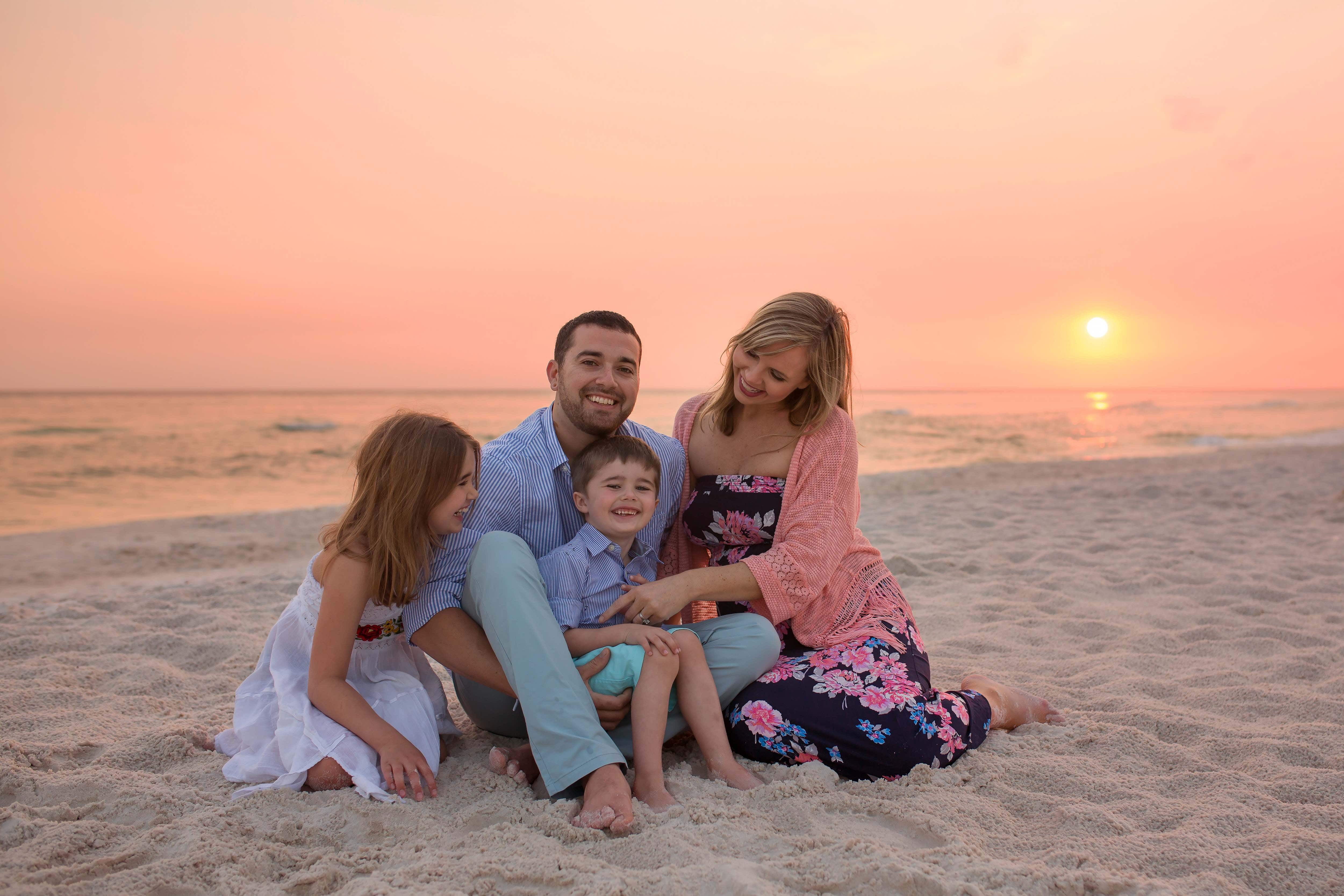 Family Photography in Seaside - LJennings Photography