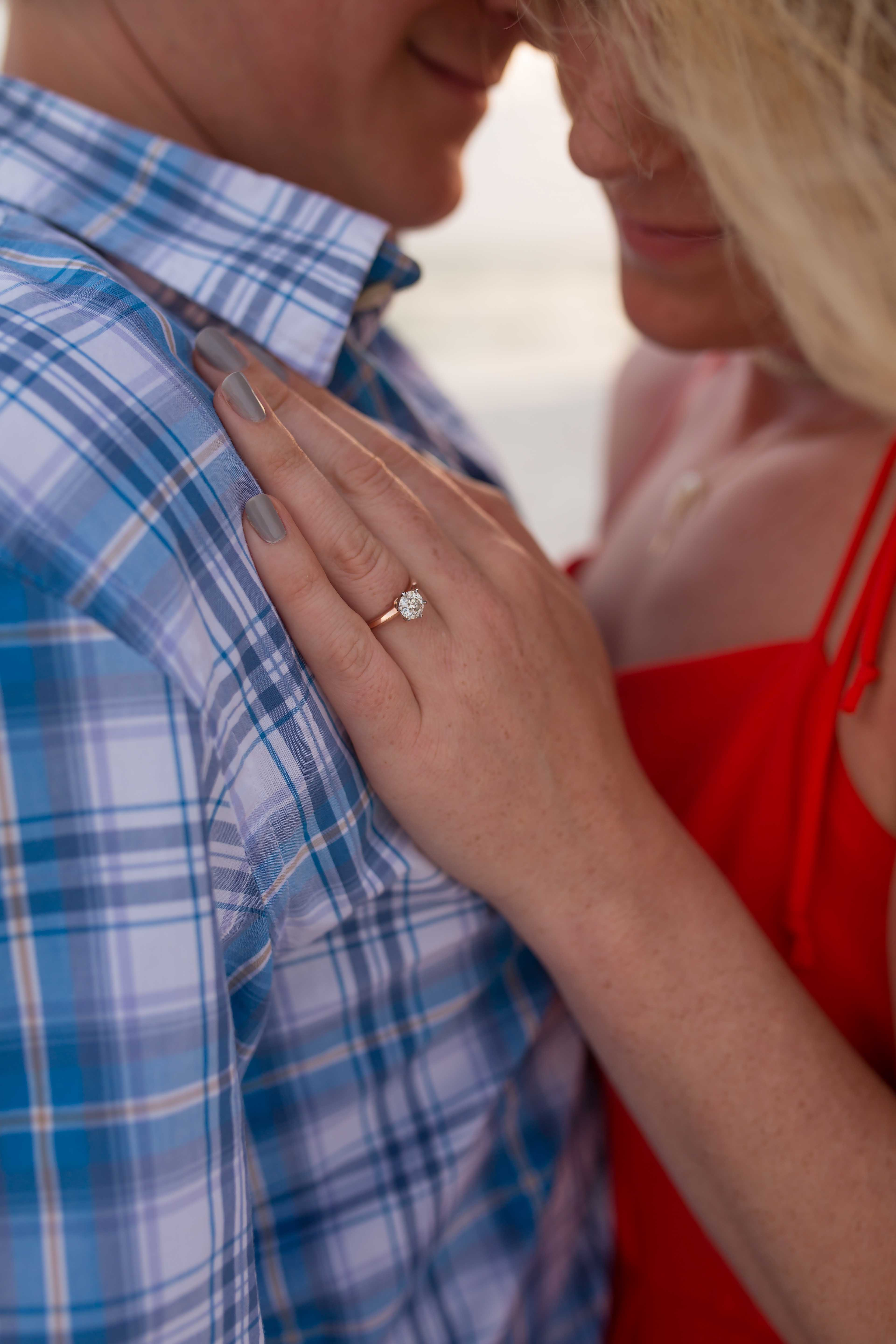 Engagement Photographs Rosemary Beach Florida