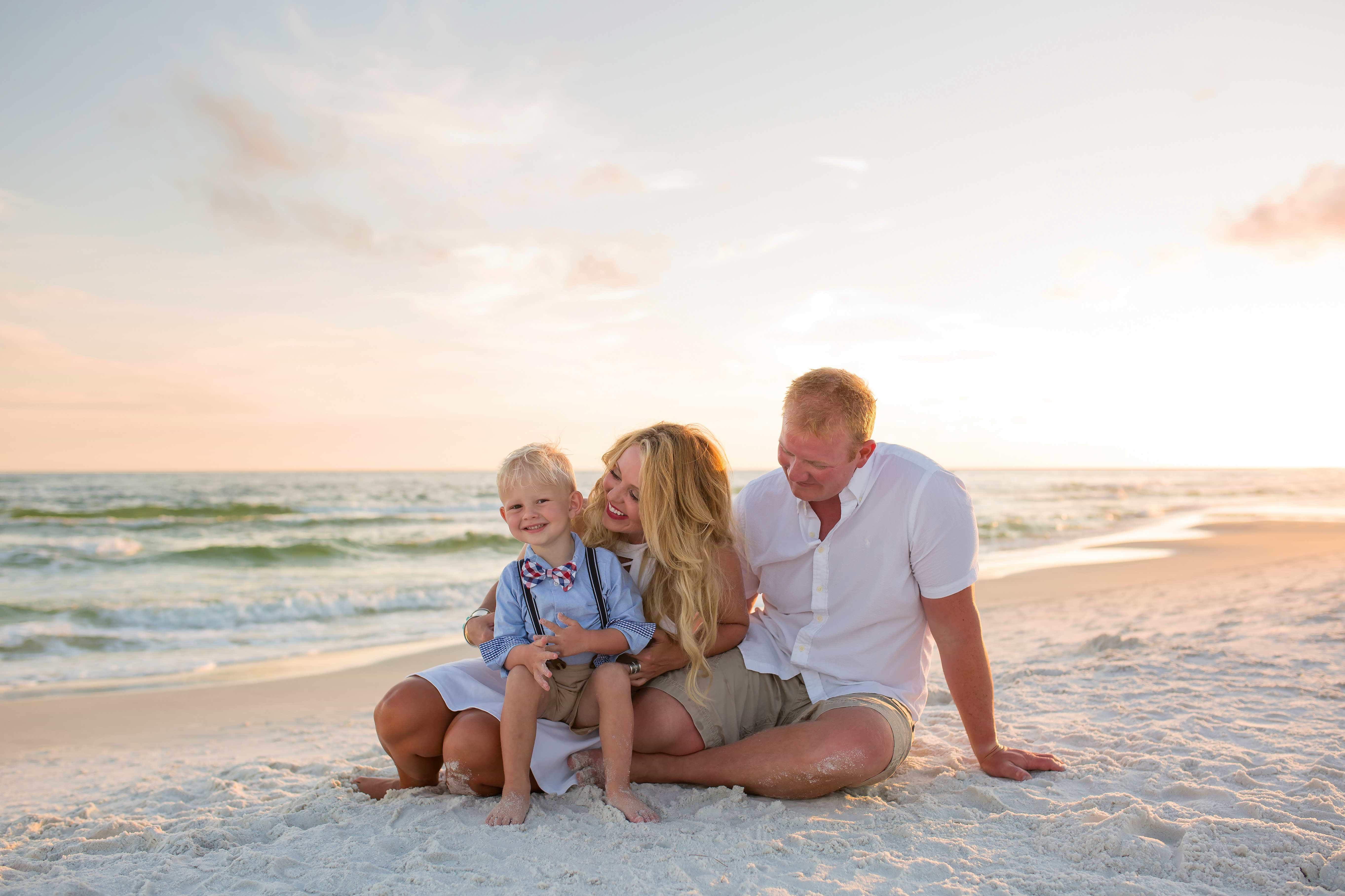 Seaside Beach Family Photographer