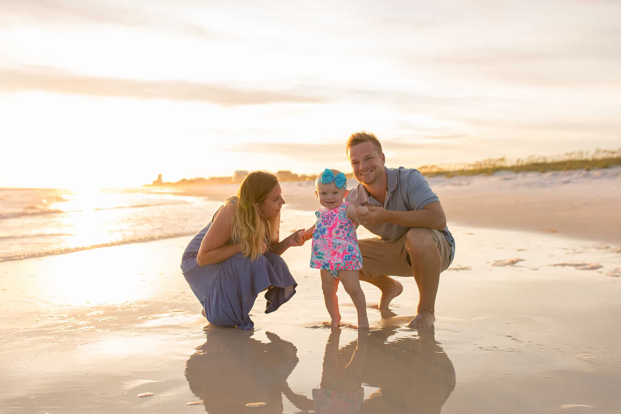 Family Photography on the Beach in Panama City