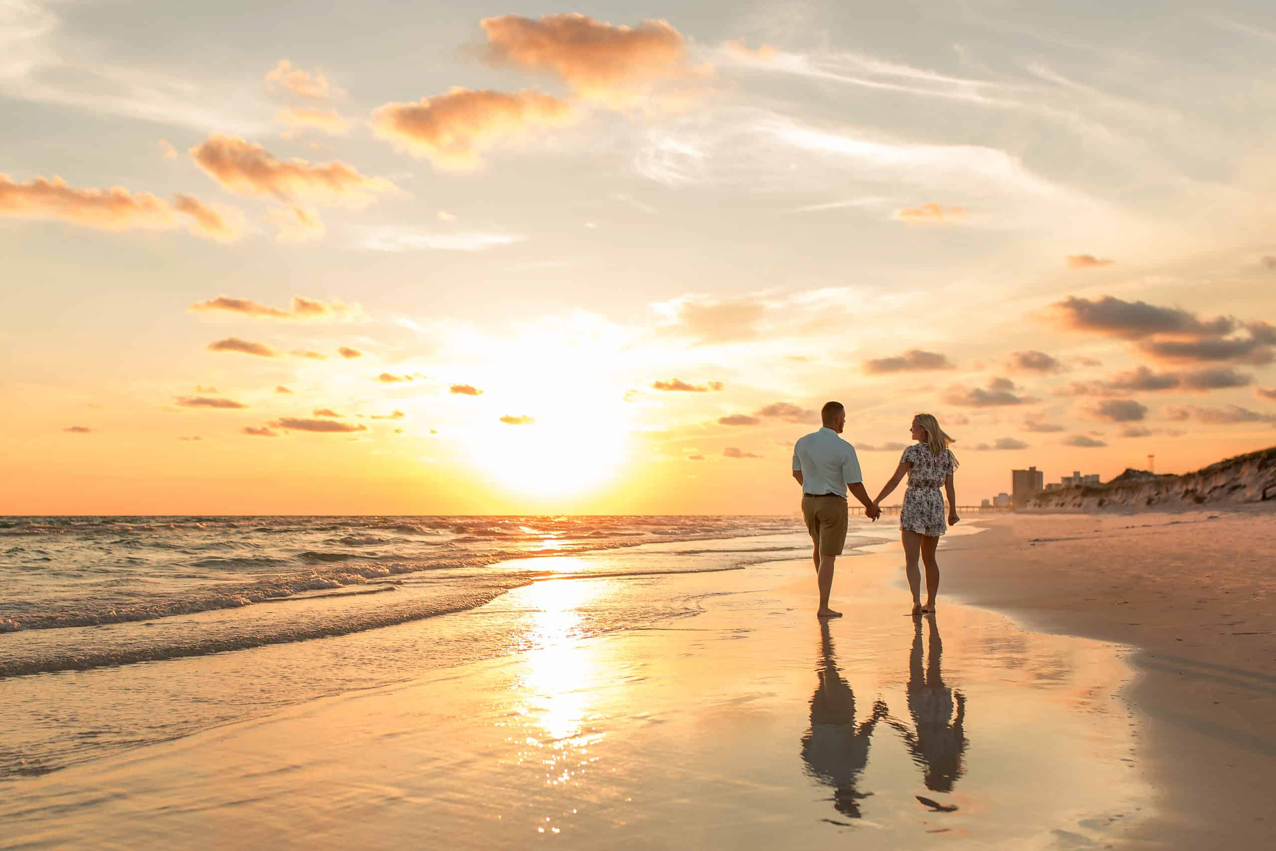 Couples Sunset PCB Photographer