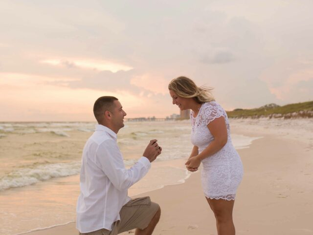 Sunset Engagement Photographers