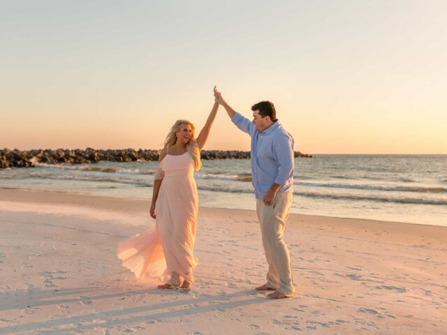 Couples Photography in Panama City Beach