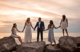 Panama City Beach Wedding Picture Retakes